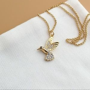 Grandmas Closet Hummingbird necklace
